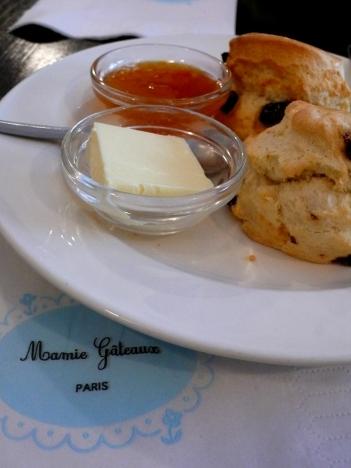 les scones chez Mamie Gâteaux
