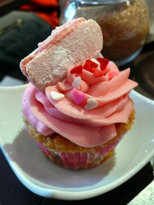 Cupcake Moulin Rose