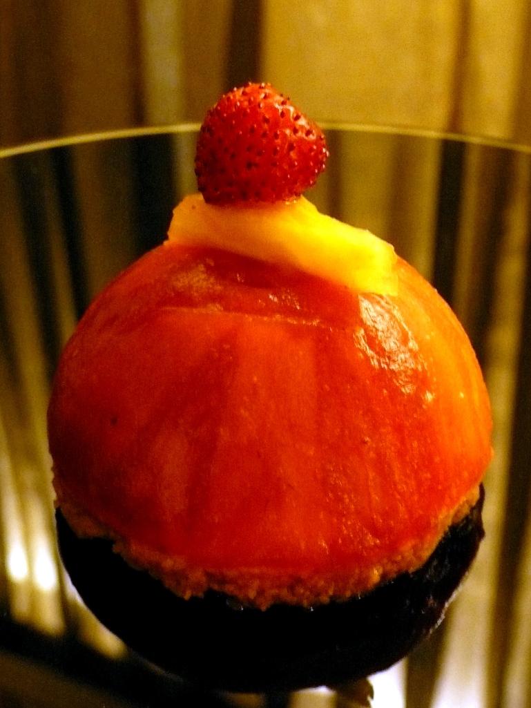 Tartelette ananas-fraise